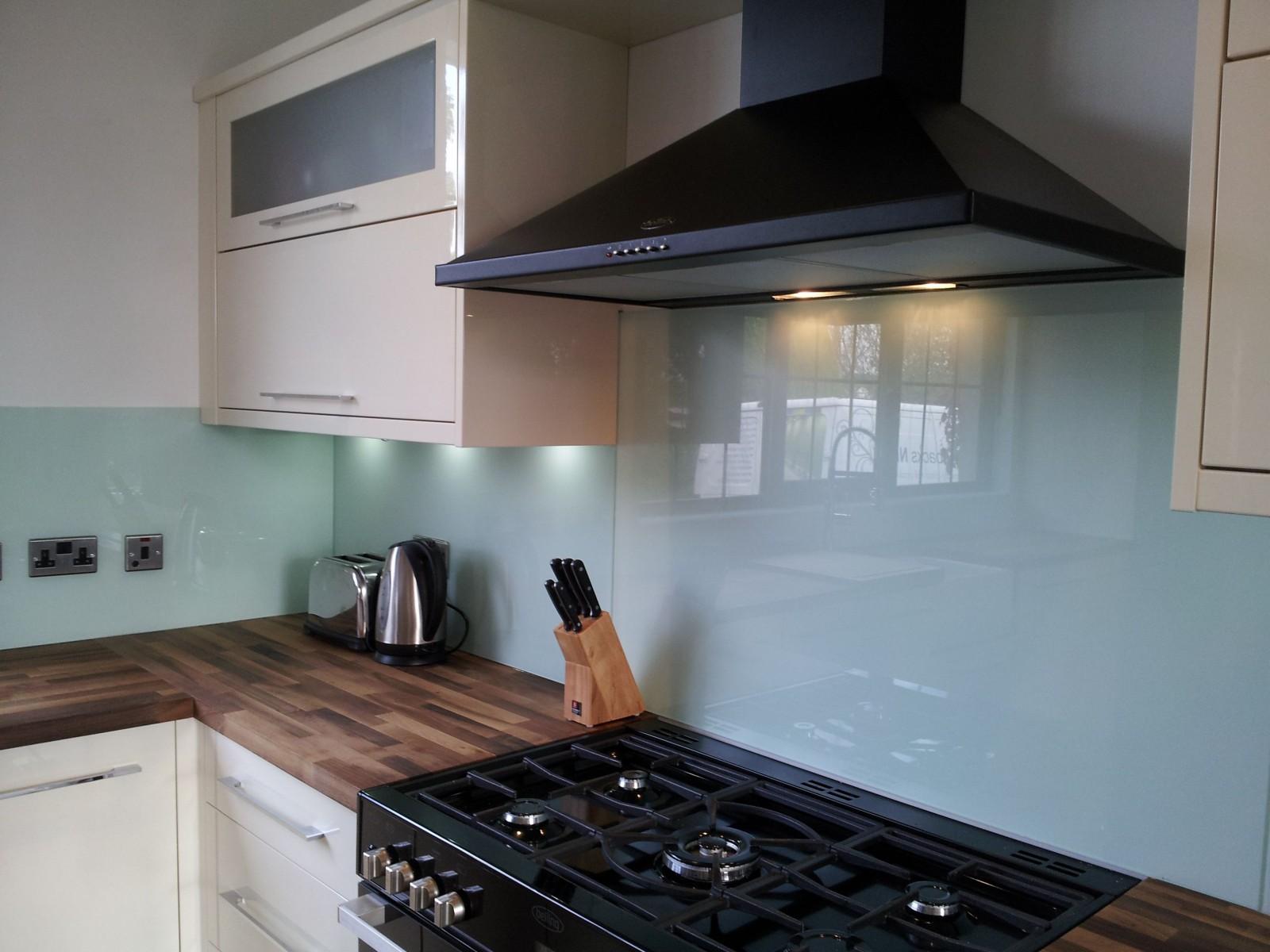 Light Blue Wall Tiles Kitchen