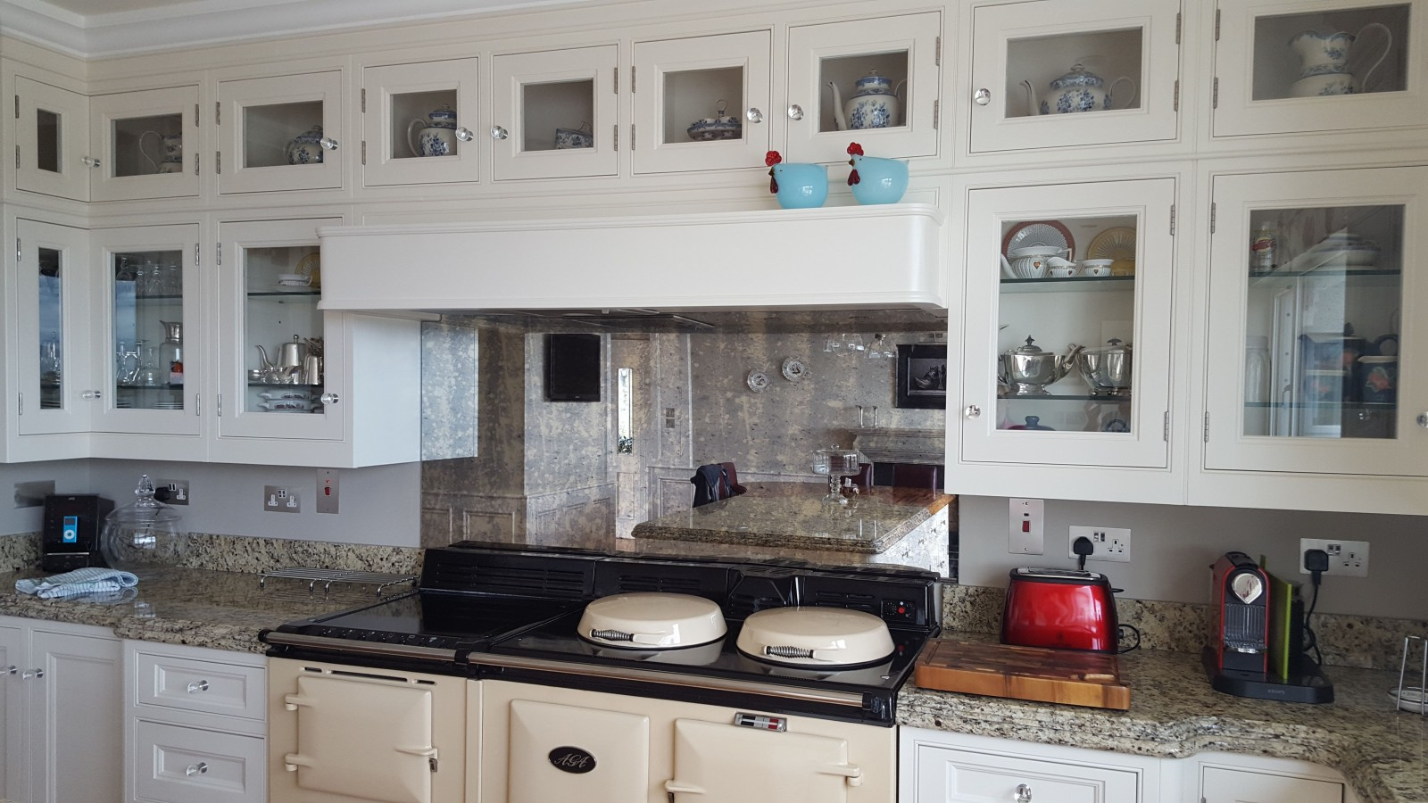 Glass Antique Mirror Splashbacks Mirror