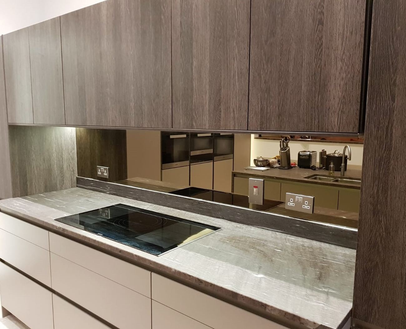 Bronze Mirror Splashbacks