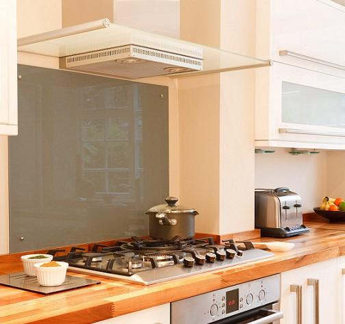 Smoked glass Kitchen