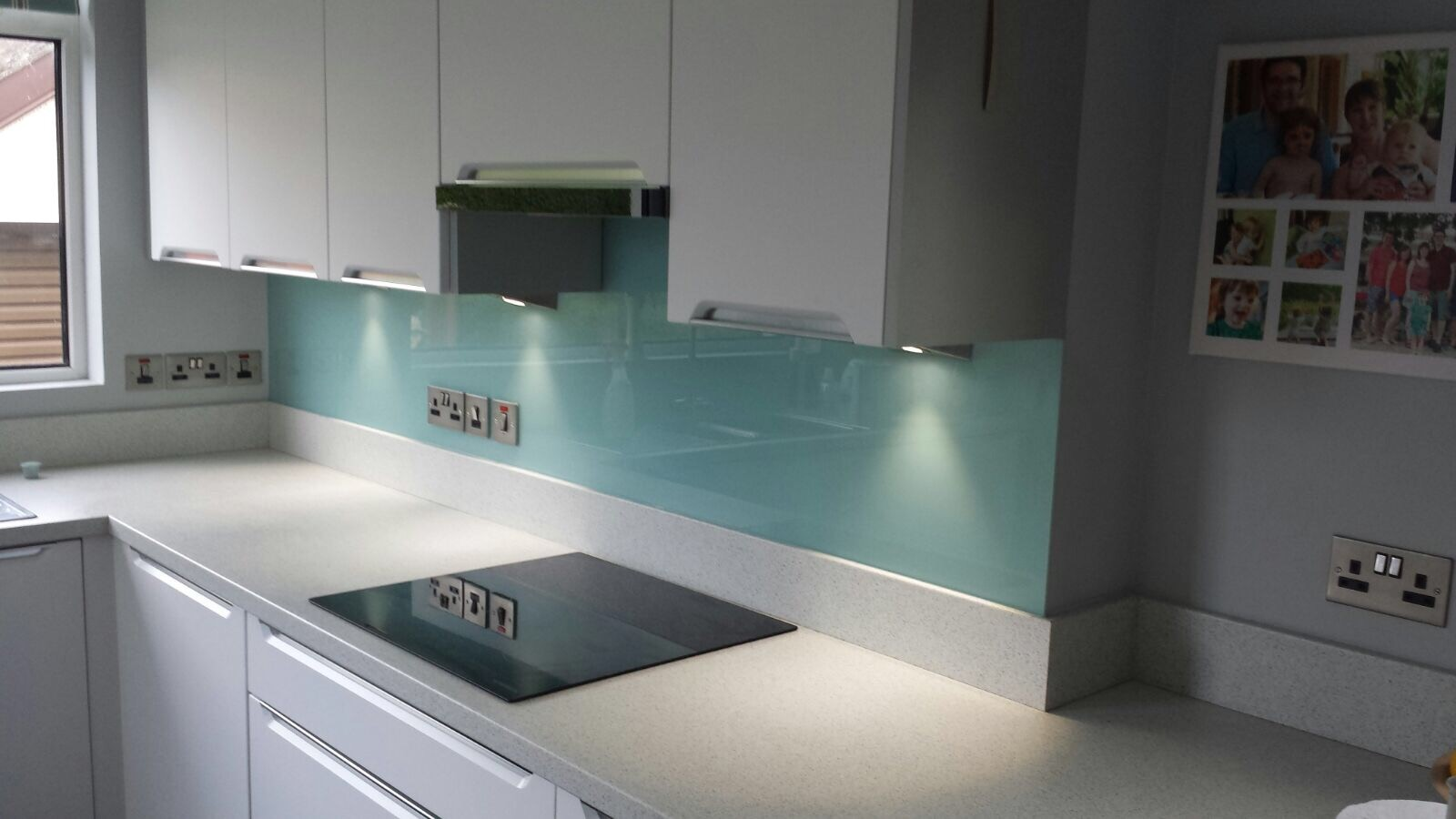 Glass - Duck Egg Glass Splashbacks - Green | SplashbacksUK ...
