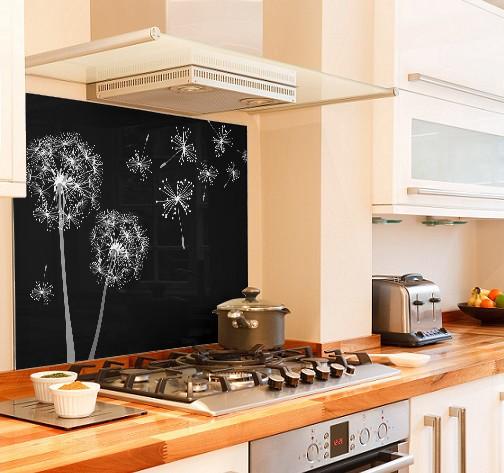 Make wish diy kitchen glass splashback