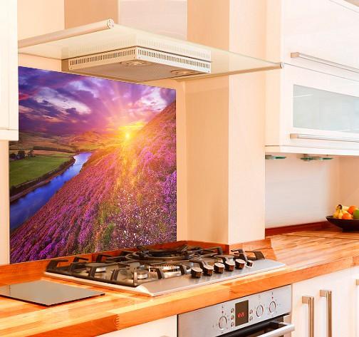 Scottish Pentlands Kitchen Glass Splashback