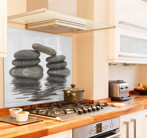 stone-bridge diy kitchen glass splashback