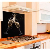 Cheers Kitchen Glass Splashback