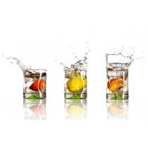 Citrus Splash glass splashback
