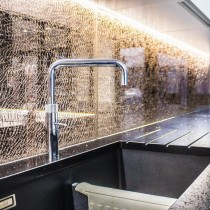 Bronze Crackled Splashbacks