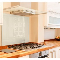 Cream Glass Splashback 670mm x 635mm