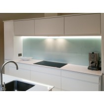 Glacier - Natural Glass Splashback 630mm x 770mm