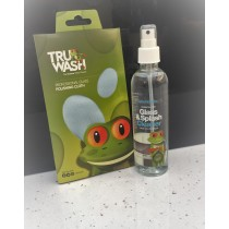 Truwash SplashbacksUK 250ml Cleaner and Cloth Set