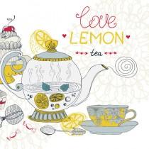 Lemon Tea sq diy kitchen glass splashback