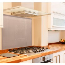 Rose Gold Metallic Kitchen Glass Splashbacks