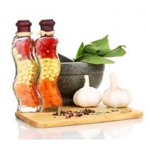 Foods diy kitchen glass splashback