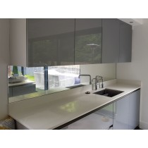 Silver Mirror Splashbacks