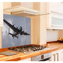 Lancaster Bomber Kitchen Glass Splashback