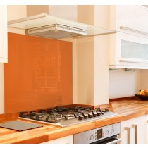 Orange Glass Splashbacks