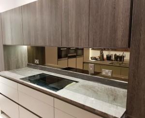 Bronze Mirror Splashbacks