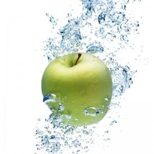 Green Apple sq diy kitchen glass splashback