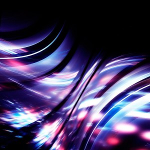 Purple waves diy kitchen glass splashback