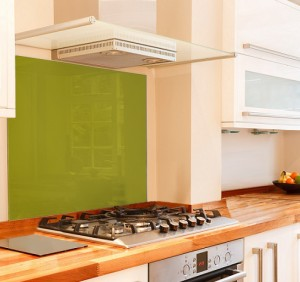 Wild Lime Glass Splashbacks