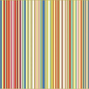Multiple stripe diy kitchen glass splashback